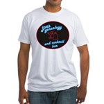 Joes Genealogy Bar Fitted T-Shirt