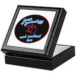 Joes Genealogy Bar Keepsake Box