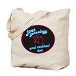 Joes Genealogy Bar Tote Bag