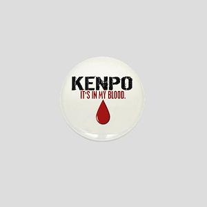 In My Blood (Kenpo) Mini Button