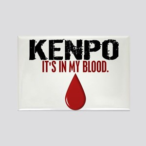 In My Blood (Kenpo) Rectangle Magnet