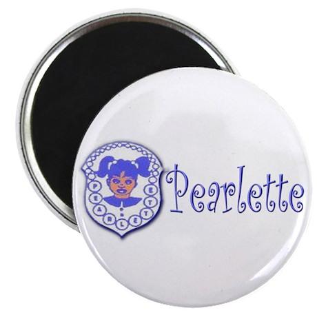 Pearlette Curlz Magnet