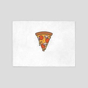 Slice Of Heaven Pizza 5'x7'Area Rug