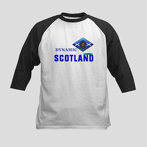Dynamic Scotland. Kids Baseball Jersey