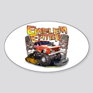 Emblem Eater Oval Sticker