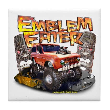 Emblem Eater Tile Coaster