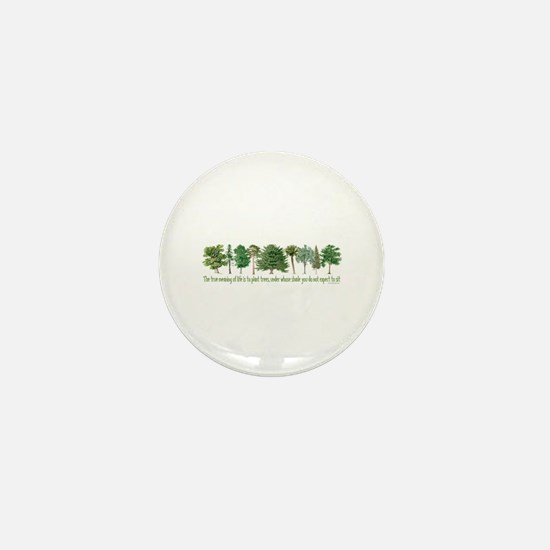 Plant a Tree Mini Button