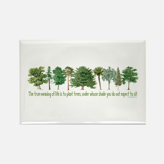 Plant a Tree Rectangle Magnet