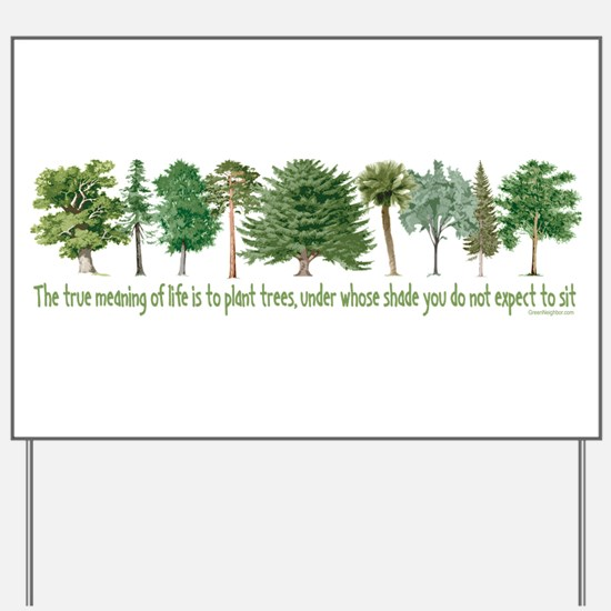 Plant a Tree Yard Sign