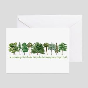Plant a Tree Greeting Card
