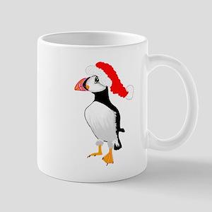 Christmas Puffin Mug