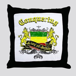 Cool rasta design Throw Pillow