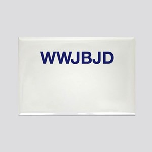 WWJBJD Rectangle Magnet