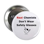 "Molecularshirts.com Real Chemists 2.25"" Button (10"