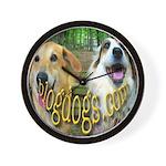 Blogdogs Wall Clock