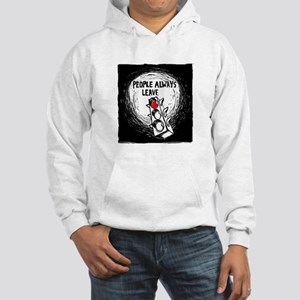People Leave - Hooded Sweatshirt