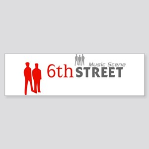 6th Street Crowd Bumper Sticker