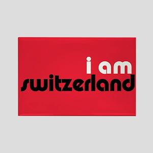 I Am Switzerland Rectangle Magnet
