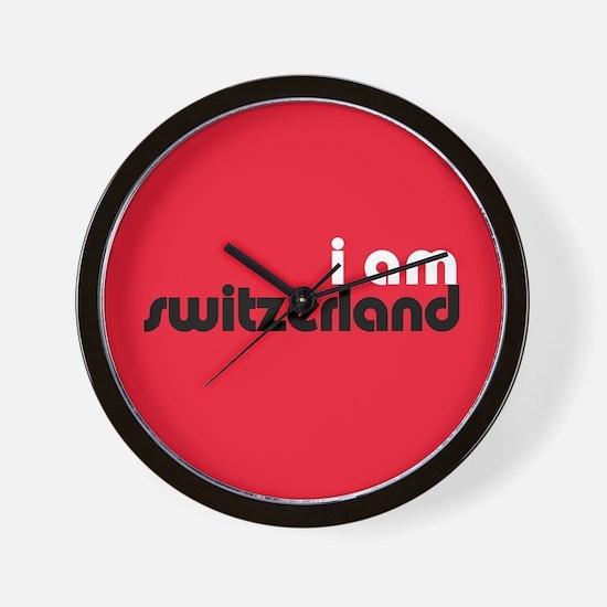 I Am Switzerland Wall Clock