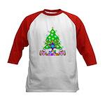 Christmas and Hanukkah Kids Baseball Jersey