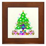 Christmas and Hanukkah Framed Tile