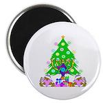 "Christmas and Hanukkah 2.25"" Magnet (100 pack"