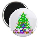 Christmas and Hanukkah Magnet