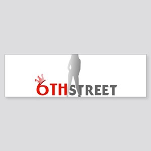 6th Street Girl Bumper Sticker