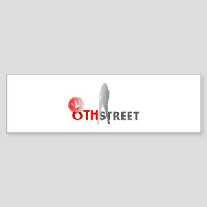 6th Street Scene 2 Bumper Sticker