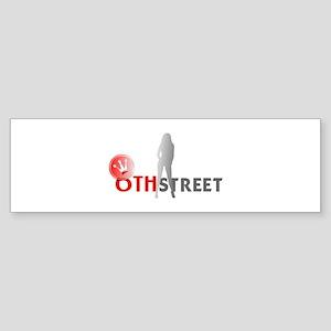 6th Street Scene 2 Bumper Sticker