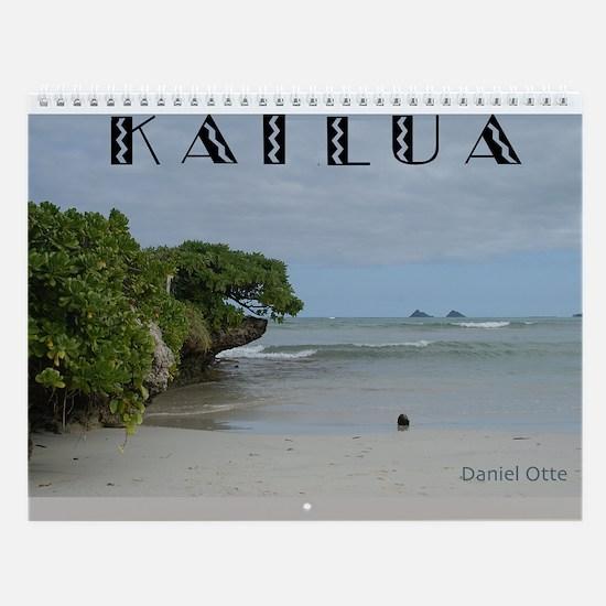 Kailua, Oahu Wall Calendar