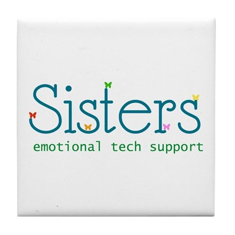 Sisters Tile Coaster