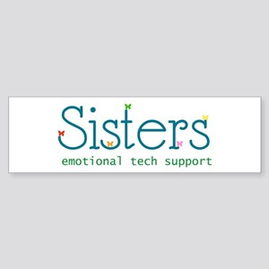 Sisters Bumper Sticker