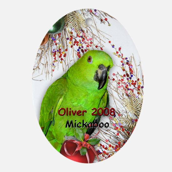 Oliver 2009 Oval Ornament