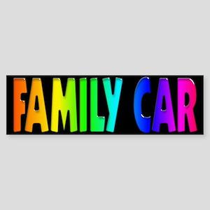 GLBT Rainbow Bumper Sticker