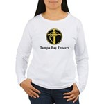 Tampa Bay Fencers Women's Long Sleeve T-Shirt