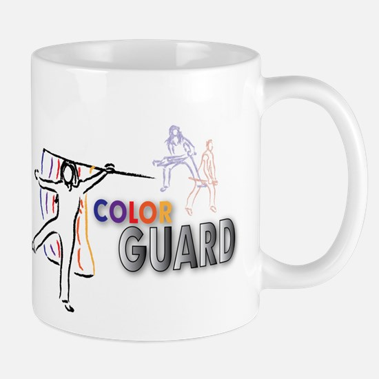 color guard design cafepress 1 Mugs