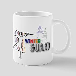 Winter Guard Sketch Mug