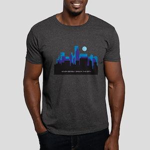 silhouette blue - Dark T-Shirt