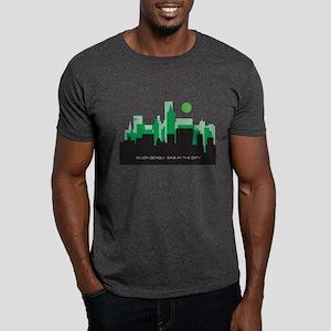 silhouette green - Dark T-Shirt