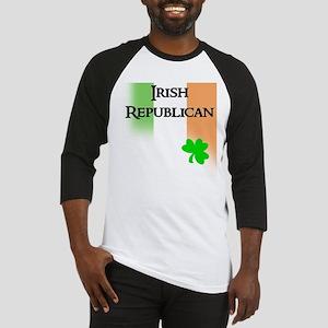 Irish Republican with faded T Baseball Jersey