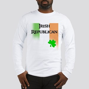 Irish Republican with faded T Long Sleeve T-Shirt