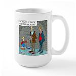 Little Dutch Boy Labor Violation Large Mug