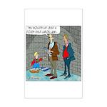 Little Dutch Boy Labor Violation Mini Poster Print
