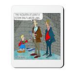 Little Dutch Boy Labor Violation Mousepad