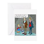 Little Dutch Boy Labor Violation Greeting Cards (P