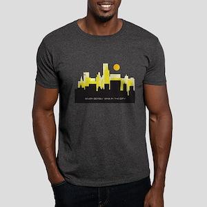 silhouette yellow - Dark T-Shirt
