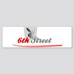 6th Street Bunny 2 Bumper Sticker