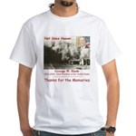 Thanks W White T-Shirt
