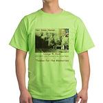 Thanks W Green T-Shirt